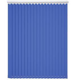 Colourway Rich Blue Vertical Blind
